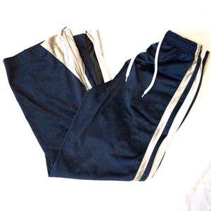 Nike Navy Athletic Stripe Pants